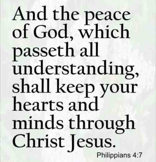 peace I live unto you