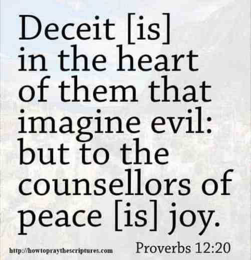 short scriptures on peace