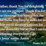 Father Thank You For Your Blessing