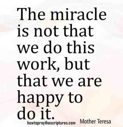 Quotes for miracles