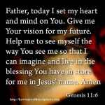 Prayer To Set My Mind On God