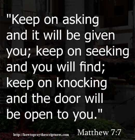 Image of: Faith How To Pray The Scriptures Inspirational Bible Quotes For Meditation