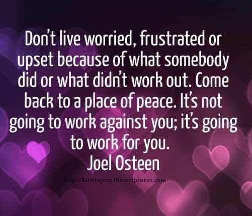 Inspirational Bible Quotes- Joel Osteen