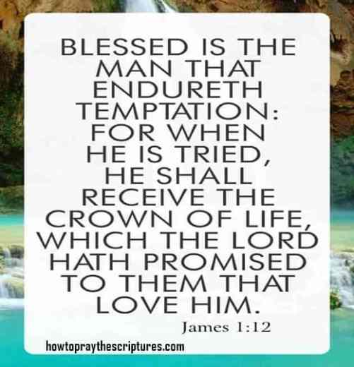 Blessed Is The Man That Endureth Temptation