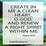 Create In Me A Clean Heart O God