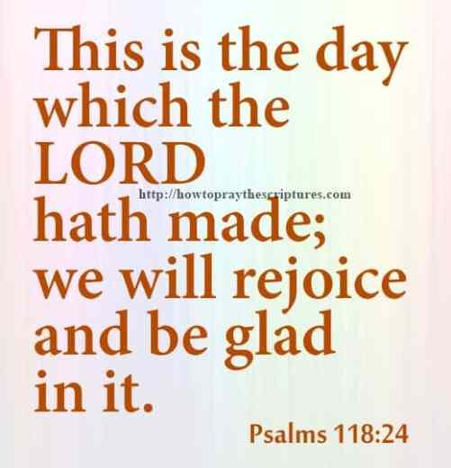 This Is The Day Which Psalms 118-24