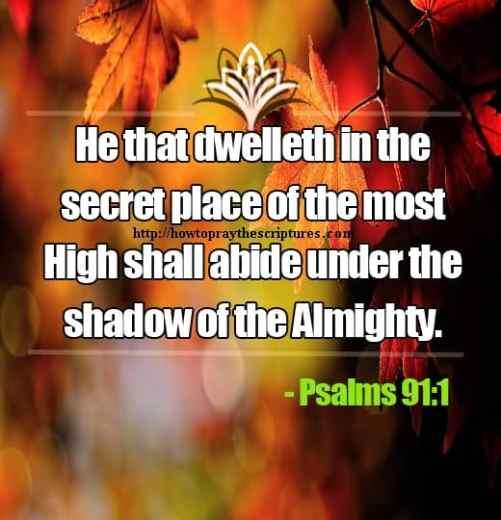 prayer bible verses