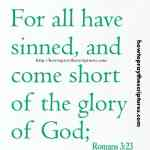 For All Have Sinned Romans 323