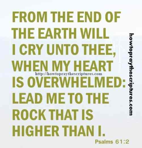 From The End Of The Earth Psalms 61-2