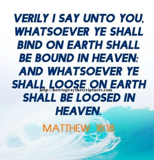 Verily I Say Unto You Matthew 18-18