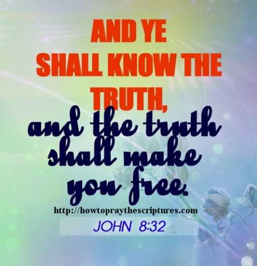 And Ye Shall Know The Truth And The Truth Shall Make You Free
