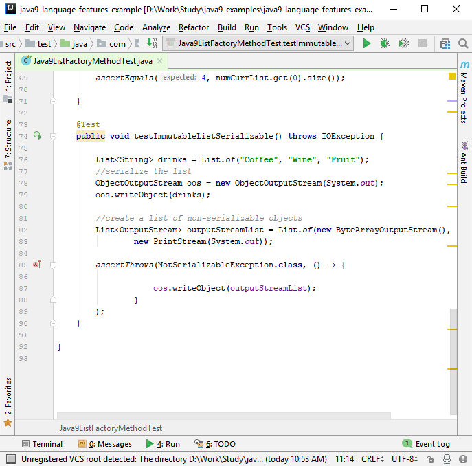 Set Up IntelliJ IDEA For Java 9 - Sample Java 9 Code