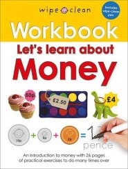 Lets learn about money book cover