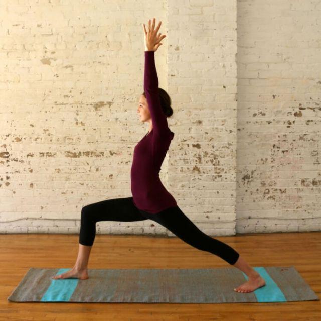 Yoga For Runners - Warrior1