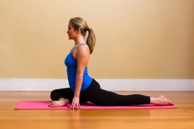 Yoga for Runners - Pigeon Pose