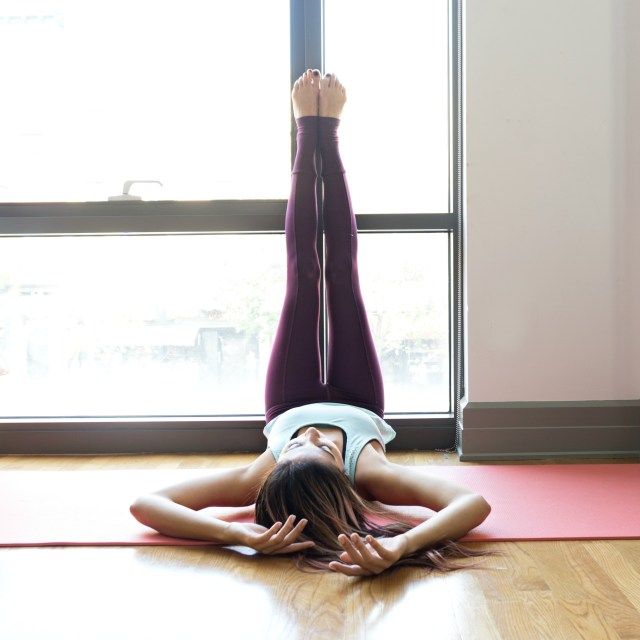Yoga for Runners - Legs Up The Wall Pose