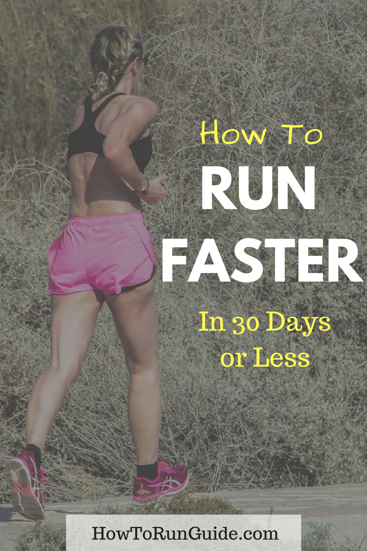 Be a faster runner in no time, just follow these tips to see your pace increase!