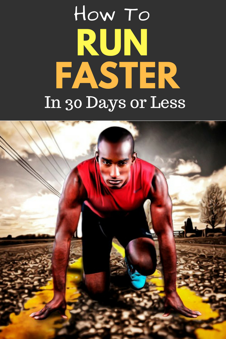 Learn How to Run Faster in 30 Days or Less. Want to increase your speed? Whether your chasing a PR or just want to be faster, follow these steps to see results. #running #runningtips