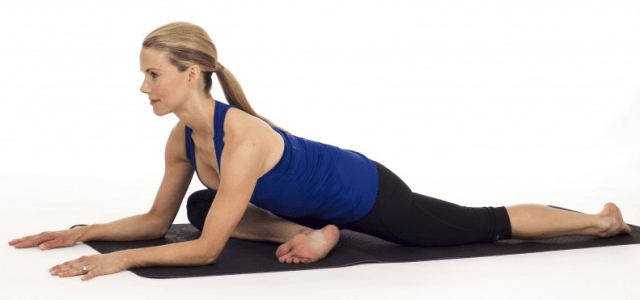 How to Prevent Runners Knee - Pigeon pose