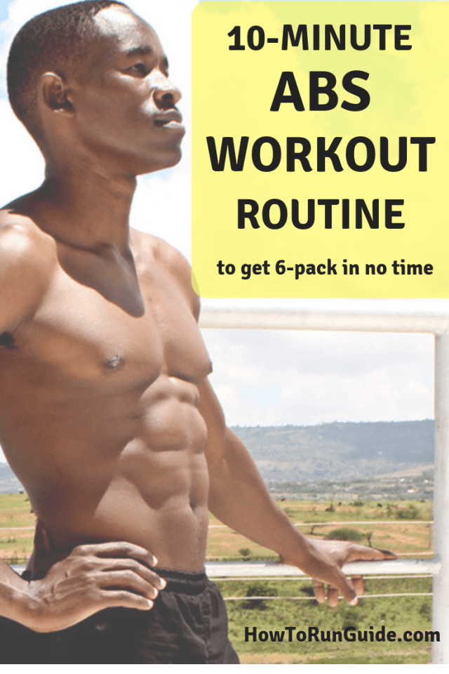 10-Minute Abs Workout Routine for Stronger Abs!