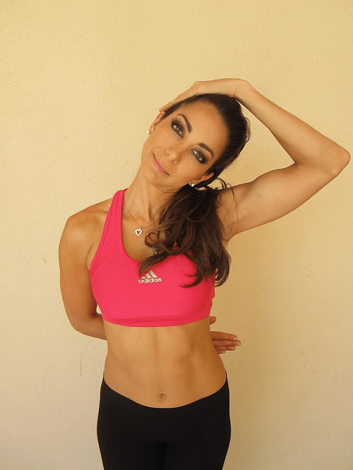 Stretching Exercises-Neck Stretch2