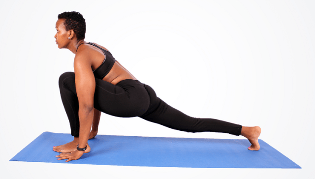 Stretching Exercises-Runners Lunge
