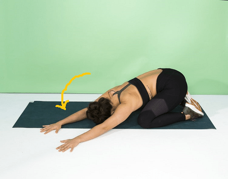 Stretching Exercises-Side Child's Pose