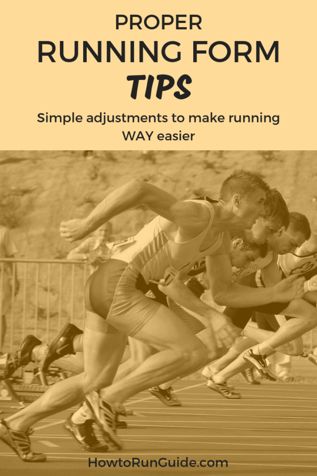 Know correct running form and how it makes running easier. Simple running form tips you can start practicing today! #running #runningtips