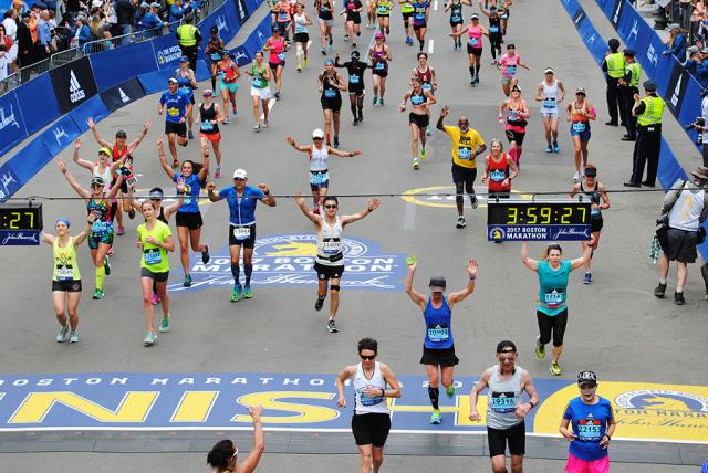 Boston Qualifying Marathons - Boston Marathon Finish line