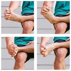 Plantar Fasciitis Stretches - Full Toe Stretch