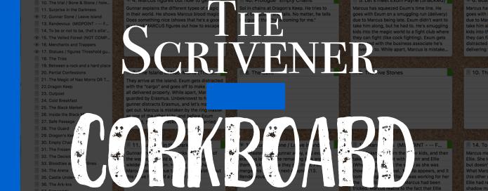 How to Use Scrivener's Corkboard