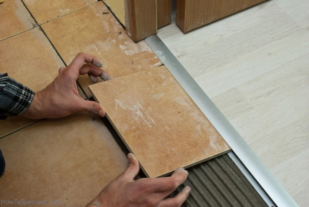 transition from tile to laminate