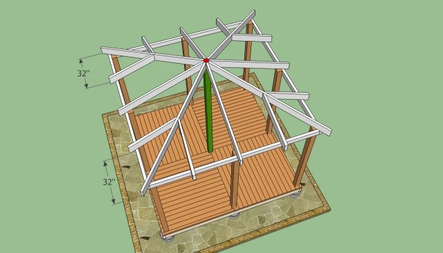 ... Gazebo Plans   HowToSpecialist - How to Build, Step by Step DIY Plans