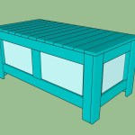 How To Build A Storage Bench Howtospecialist How To Build Step By Step Diy Plans