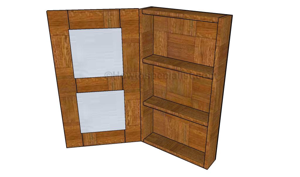 bathroom armoire plans