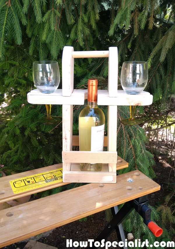 How To Build An Outdoor Wine Caddy HowToSpecialist How To Build Step By Step DIY Plans