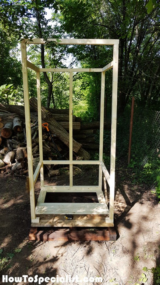 Outhouse-frame