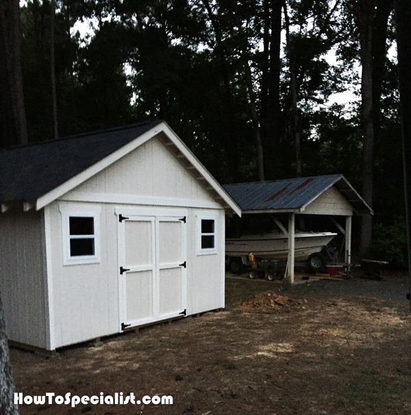 DIY 16x16 Shed HowToSpecialist How To Build Step By
