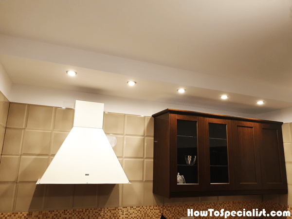 how to build a soffit box with lighting