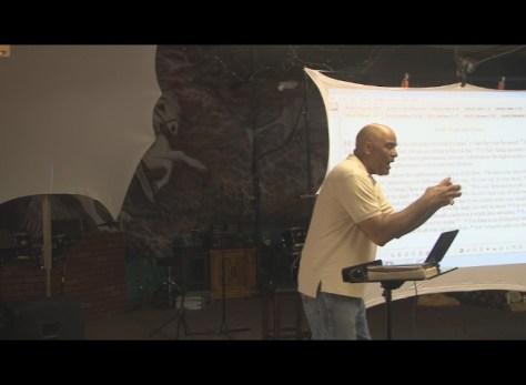 Alan teaching