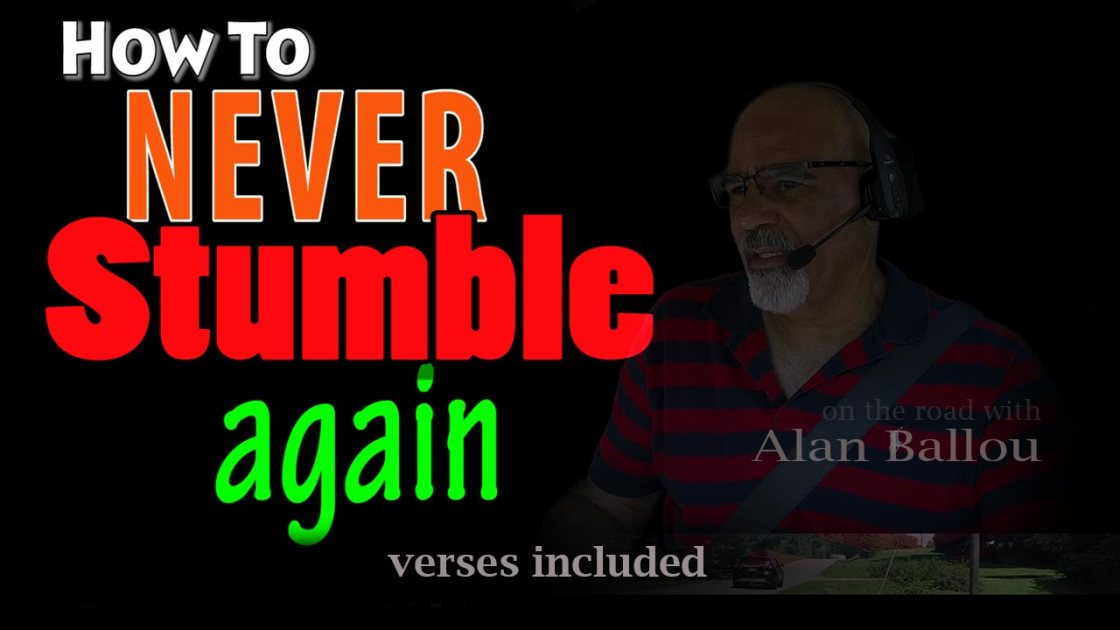 How To Never Stumble Again video