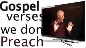 Gospel verses that we don't preach promo picture