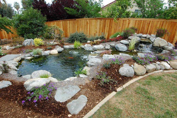 Building Outdoor Pond