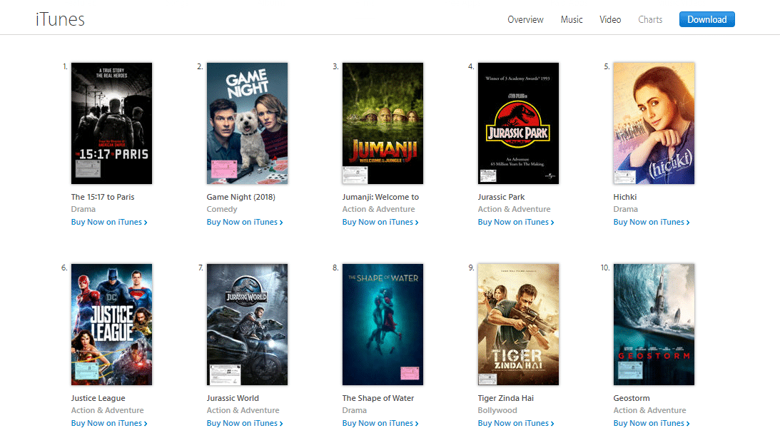 best place to download movies for ipad