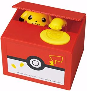 Itazura New Pikachu Piggy Bank box