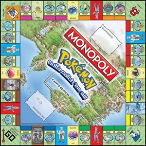 Monopoly Pokemon - Kanto Region Edition