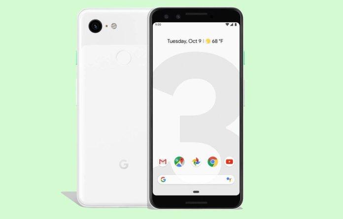 google pixel 3 and pixel 3 xl-display