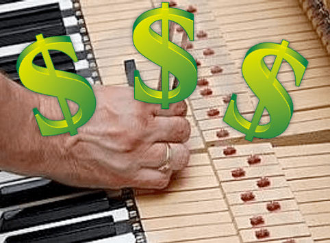 How to make money tuning pianos