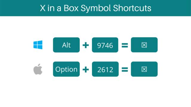 X in a Box shortcuts