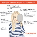 What Your Hair Can Tell You In 5 Seconds Flat
